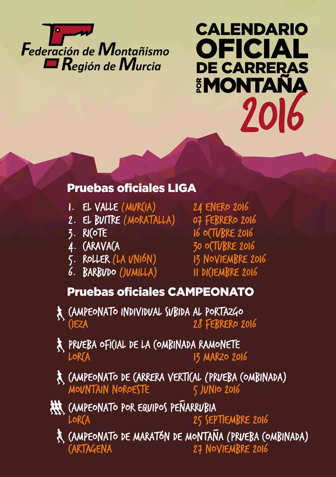 Cartel Liga CXM 2016